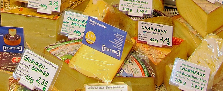 käsetheke auswahl