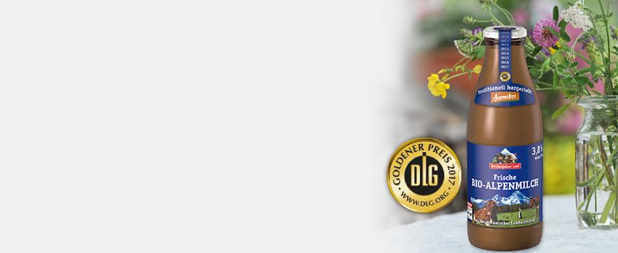 frische alpenmilch demeter-qualität