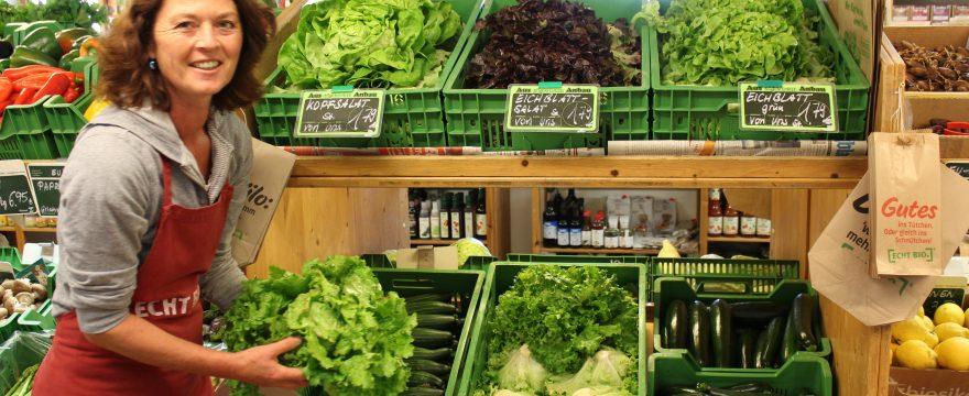 Bio-Gemüse aus eigenem Anbau